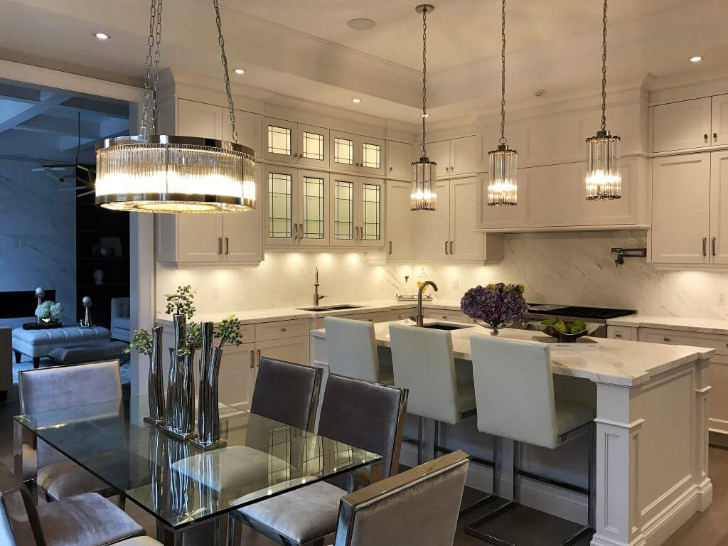Custom Transitional Kitchen By Ariel Muller Designs Ariel