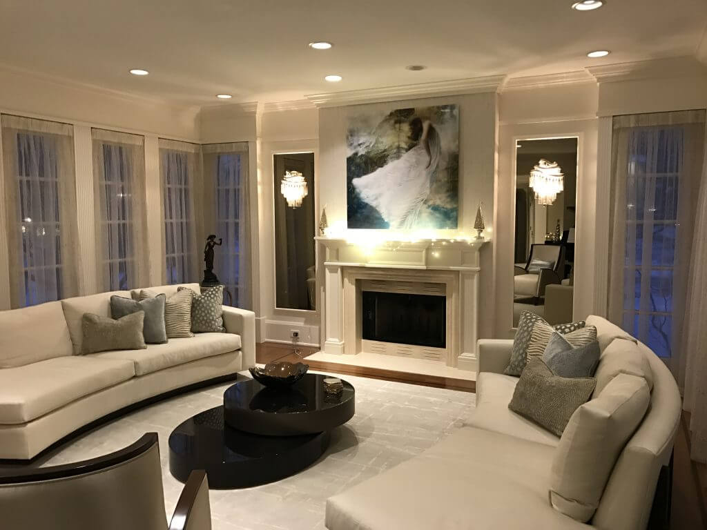 Sophisticated Living Room By Ariel Muller Designs