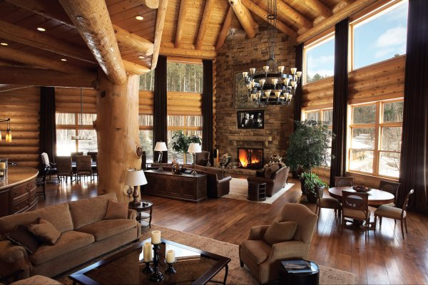 Ariel Muller Designs - Log House 1